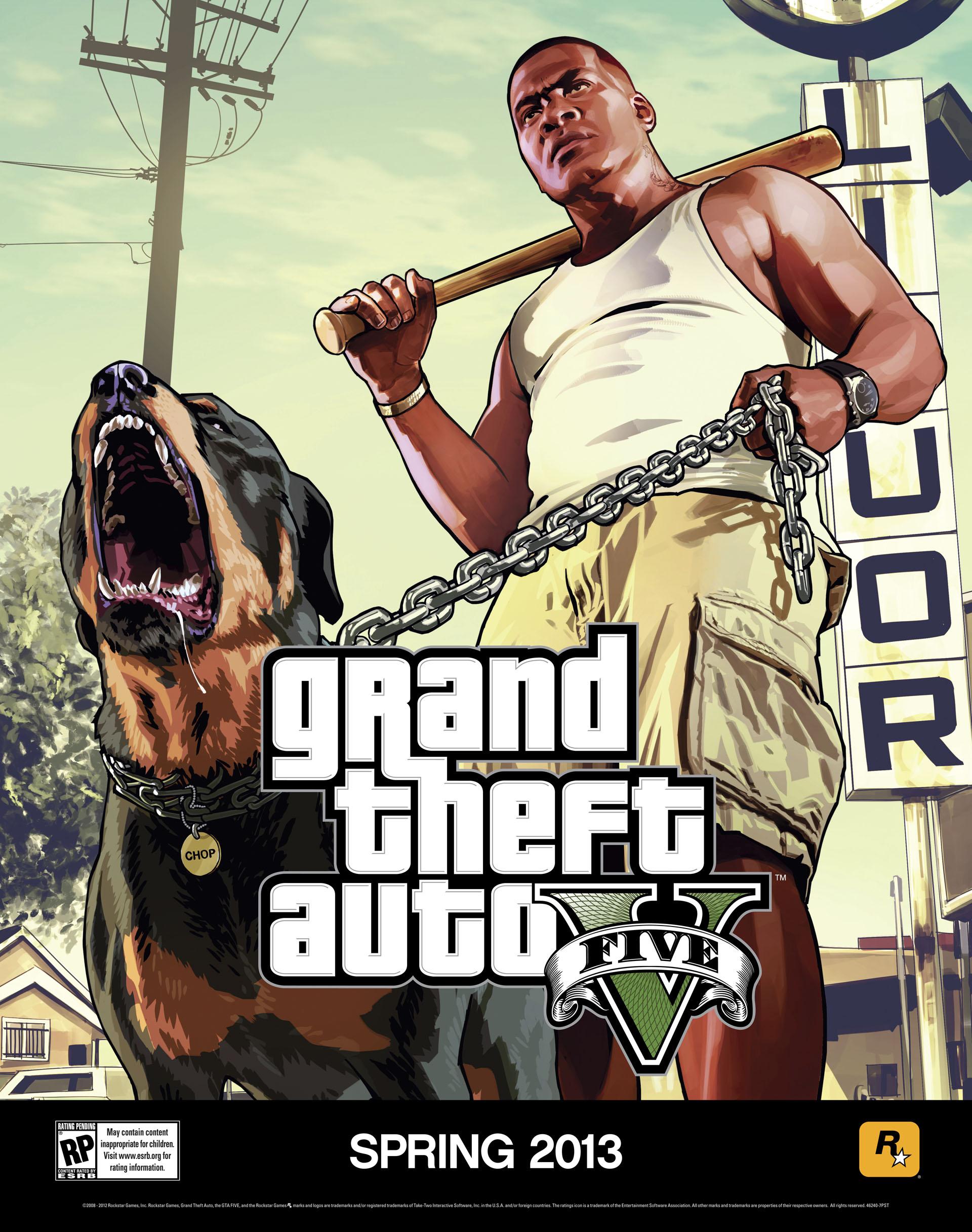 Dos pósters de GTA V en alta resolución   GOTYazos Blog